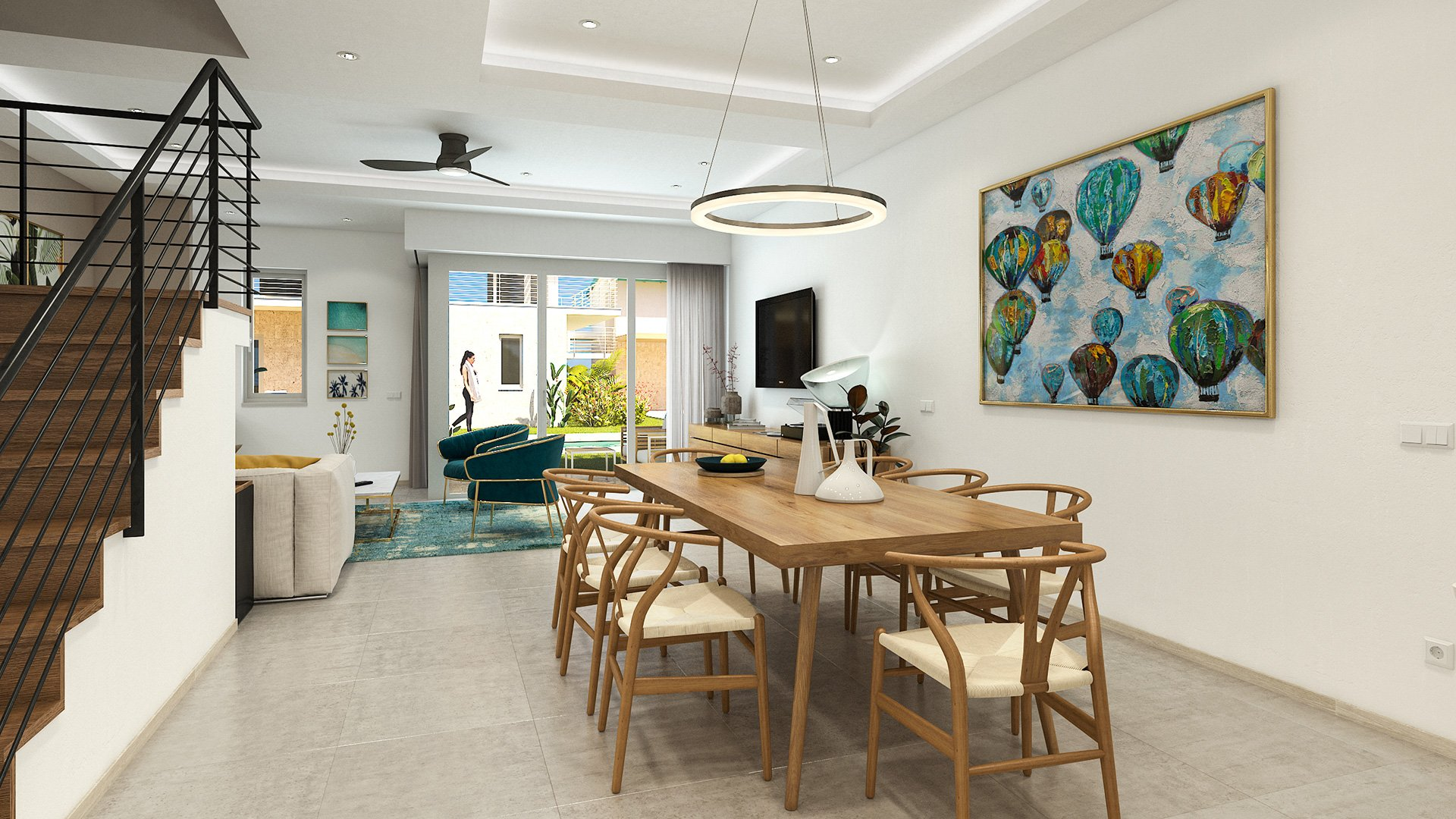 Mediterranean design Cayman Real Estate